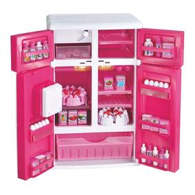 Geladeira Infantil Completa C/ Acessórios Baby Alive Hasbro