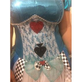 Disfraz Alicia Sexy En El Pais De Las Maravillas Envío Grati