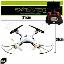 Dron,explorer,camara Video Hd,wifi Tiempo Real,grande 31cm