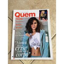 Revista Quem 847 Bruna Marquezine Madonna Shakira Ano 2016