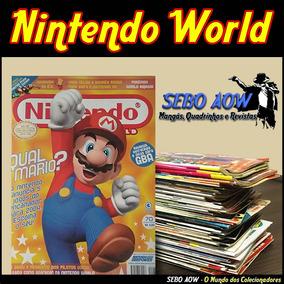 Revista Nintendo World - Compre Mais E Ganhe Desconto Frete