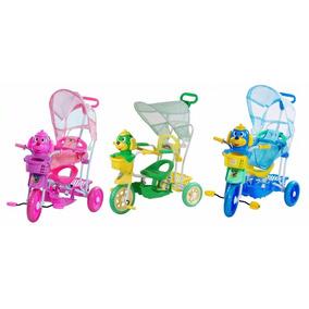 Carrinho Bebe ( Infantil ) Triciclo 3 X 1 Musical E Luz