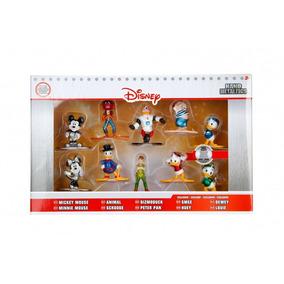 10 Figuras De Disney Metalicas De Coleccion Mickey Minnie