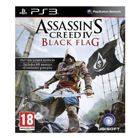 Juego Ps3 Ubisoft Assasins Creed Iv Black Flag
