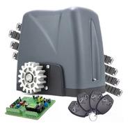 Kit Motor Deslizante Nano Turbo Rossi Com 4 Controles