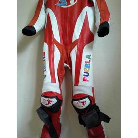 Traje Racing Ducati En Piel Canguro Speedtech