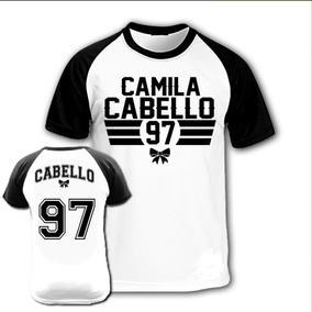 Camiseta Raglan - Fifth Harmony Camila Cabello 5h Camisa