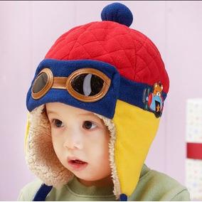 C1301 - Gorro Tipo Piloto Para Bebe Niños De 0 - 4 Años