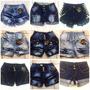 Kit Com 3 Shortes Jeans Pit Bull - Todo Em Lycra