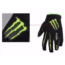 Par De Luva Esportiva Monster Moto Bike Trilha Motocross
