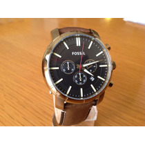 Reloj Caballero Fossil Café Bq2008 Original Envío Gratis