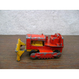 Antiguo Juguete Matchbox Nro16 Case Tractor