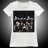 T-shirts Grupo Banda Bts Blusa Roupa Camisa Feminina Mt0004