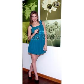 Vestido Casual Corto Coctel Elegante 15 Años Gala Graduacion