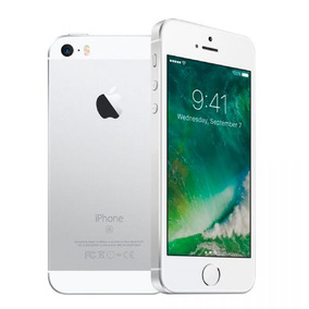 Iphone Apple Se, Silver, Mp822br/a, Tela De 4 , 32gb, 12mp