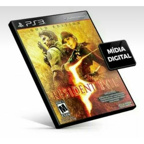 Resident Evil 5 Ps3 Inglês Psn Mídia Digital Envio Já