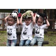 Camiseta  Yo Soy Panda  Niños