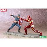 Kotobukiya - Captain America Iron Man Art-fx