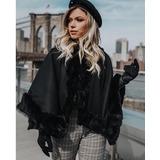 Poncho Importado Social De Pelos Veste P M E G Instagram