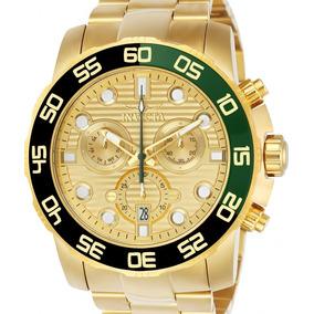 Relógio Invicta Pro Diver 21554 - Dourado Masculino