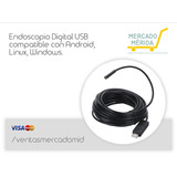 Endoscopio Digital Usb Para Pc Y Android