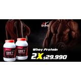 2 Unidades De Whey Protein + Envío Gratis A Todo Chile