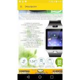 Celular Libre Con Camara Modelo Smartwach Reloj Inteligente