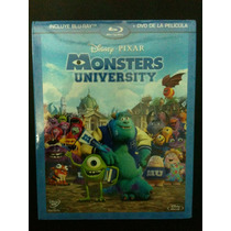 Monster University De Disney Pixar ( Bluray + Dvd )