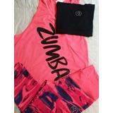Conjunto Zumba Sudadera+calza Capri+top