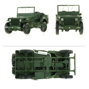 Jeep Willys 1945 Escala 1/18 Colecionador Frete Gratuito