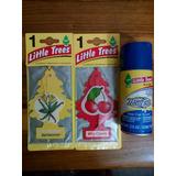 Ambientador Para Carros Pino / Spray Little Trees Original!!