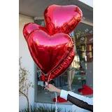 Balão Coração Metalizado Red!
