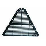 Placa De Ventilação Canalete 49 - Embalagem 10 Peças