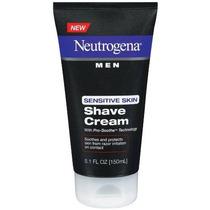 Hombres Neutrogena Sensitive Skin Shave Cream 5.1 Onzas (paq