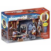 Retromex Playmobil 5637 Herreria Medieval Caballeros Armas