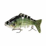 Señuelo Ultrarealistas Swimbait Articulado 7 Secciones Pesca