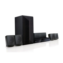 Home Theater Lg Lhb625m 1000w, 5.1 Canais, Blu-ray 3d E Blue