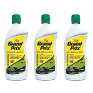Kit Lava Auto Grand Prix Com Cera 200ml 3 Unidades