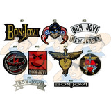 Parche Bordado Rock Jon Bon Jovi New Jersey X Unidad Adr