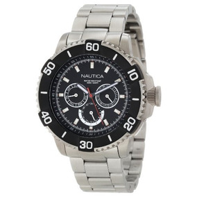 Reloj Analógico Clásico Nautica N19587g Nst 501 Para Hombre
