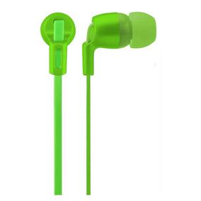 Fone De Ouvido Intra Auricular Multilaser Neon Series Verde