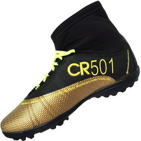 Chuteira Society Botinha Cano Alto Mercurial Nike 01