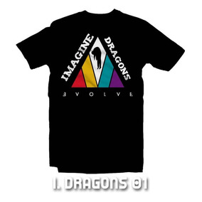 Playeras Imagine Dragons - 9 Modelos Disponibles