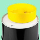 1 Embudo Extragrande De 45x15 Cm Para Tambos, Cap. 20 Litros