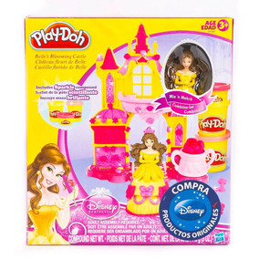 Disney Princesa Playdoh Castillo De Bella Set Completo