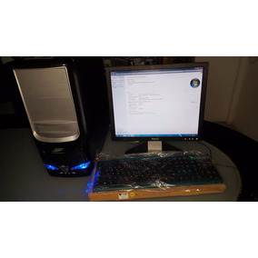 Computadora Intel Core 2 Duo 2gb Ram Disco 250gb Monitor 17