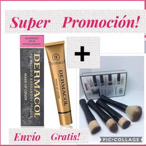 Súper Promo! Dermacol Y Llévate Gratis Una Brochas!!