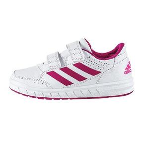 Tenis Bebe Marca adidas Mod Ba9450 Blanco/rosa