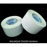 Etiqueta 40x40 Balança Toledo Prix4 Uno - Prix5 - 45 Rolos