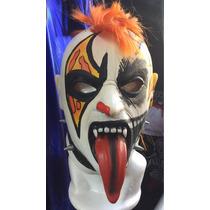 Psycho Clown Modelo Vengador Fantasma Máscara De Latex